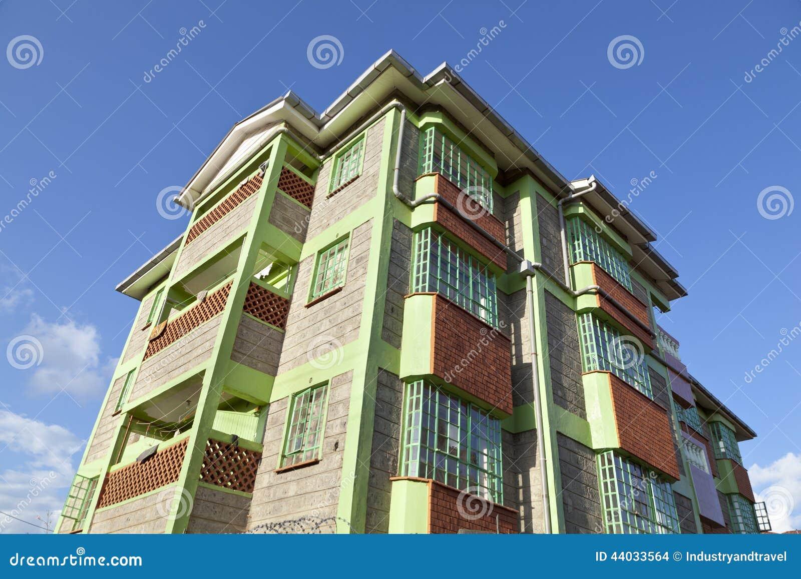 Kenyan apartment building stock photo image 44033564 for Apartment design kenya