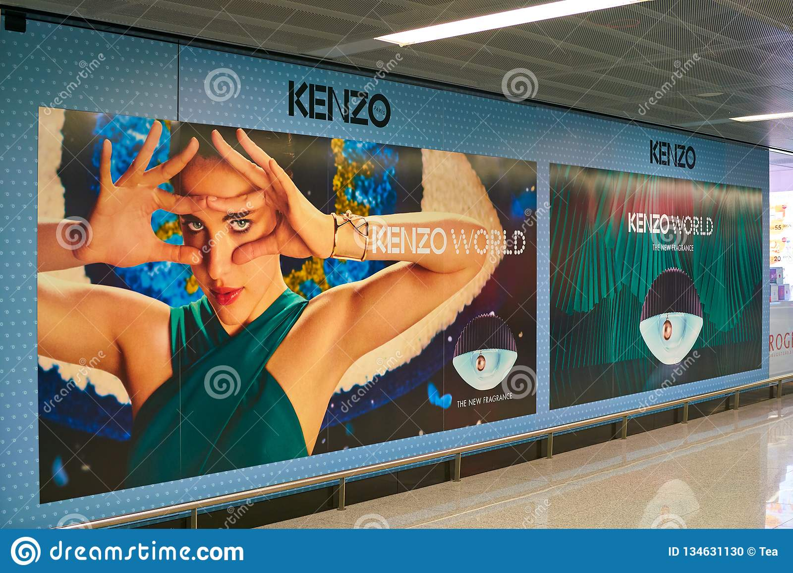 Kenzo reklama