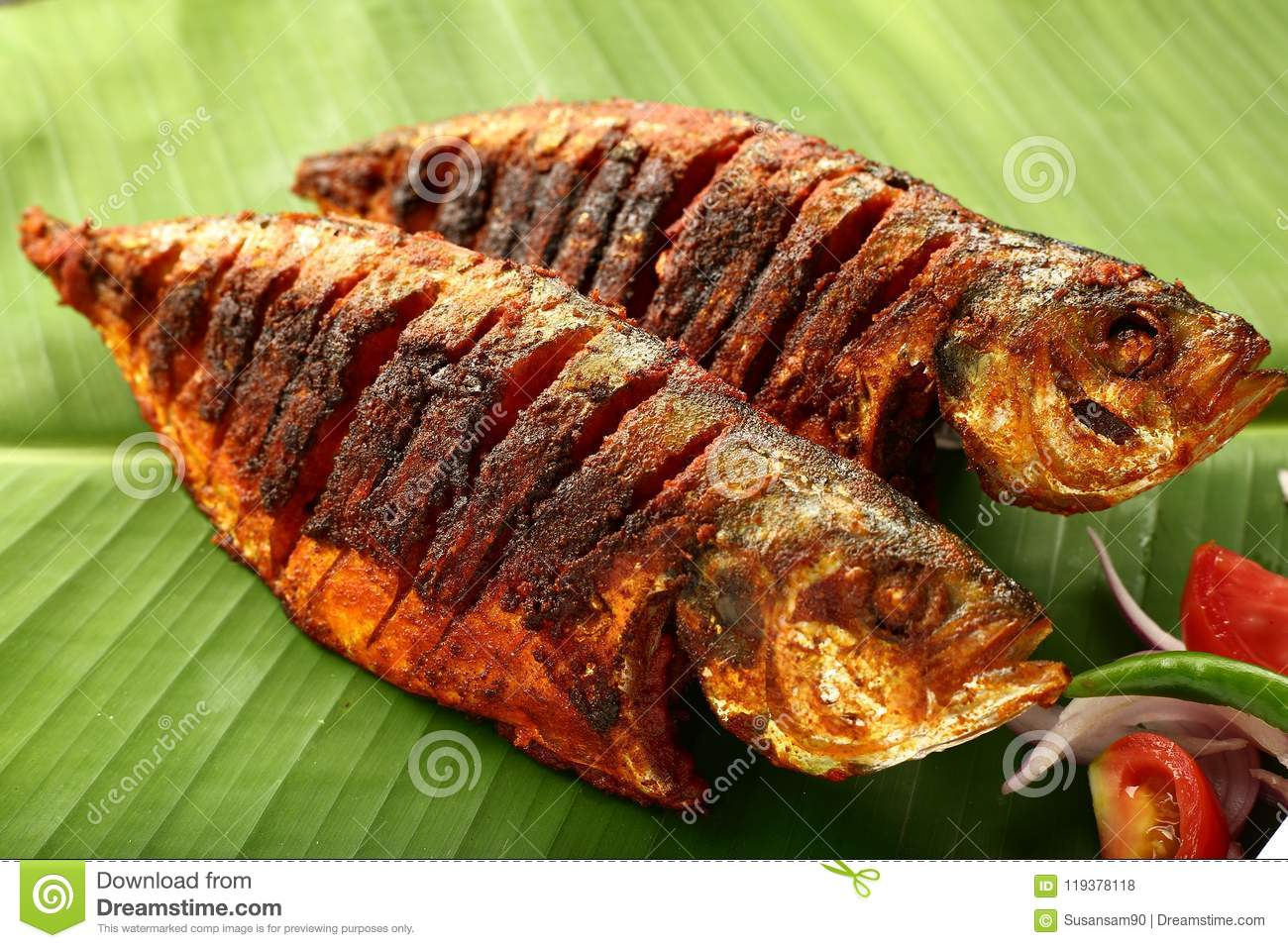 Kerala food delicious fish fry authentic recipe stock photo download comp forumfinder Gallery