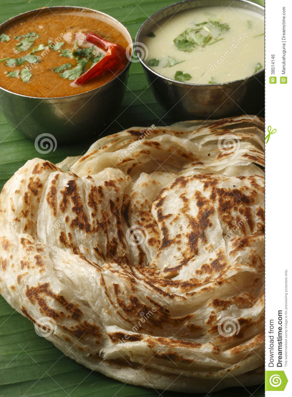 Kerala paratha a layered flatbread from kerala royalty for Abhiruchi south north indian cuisine