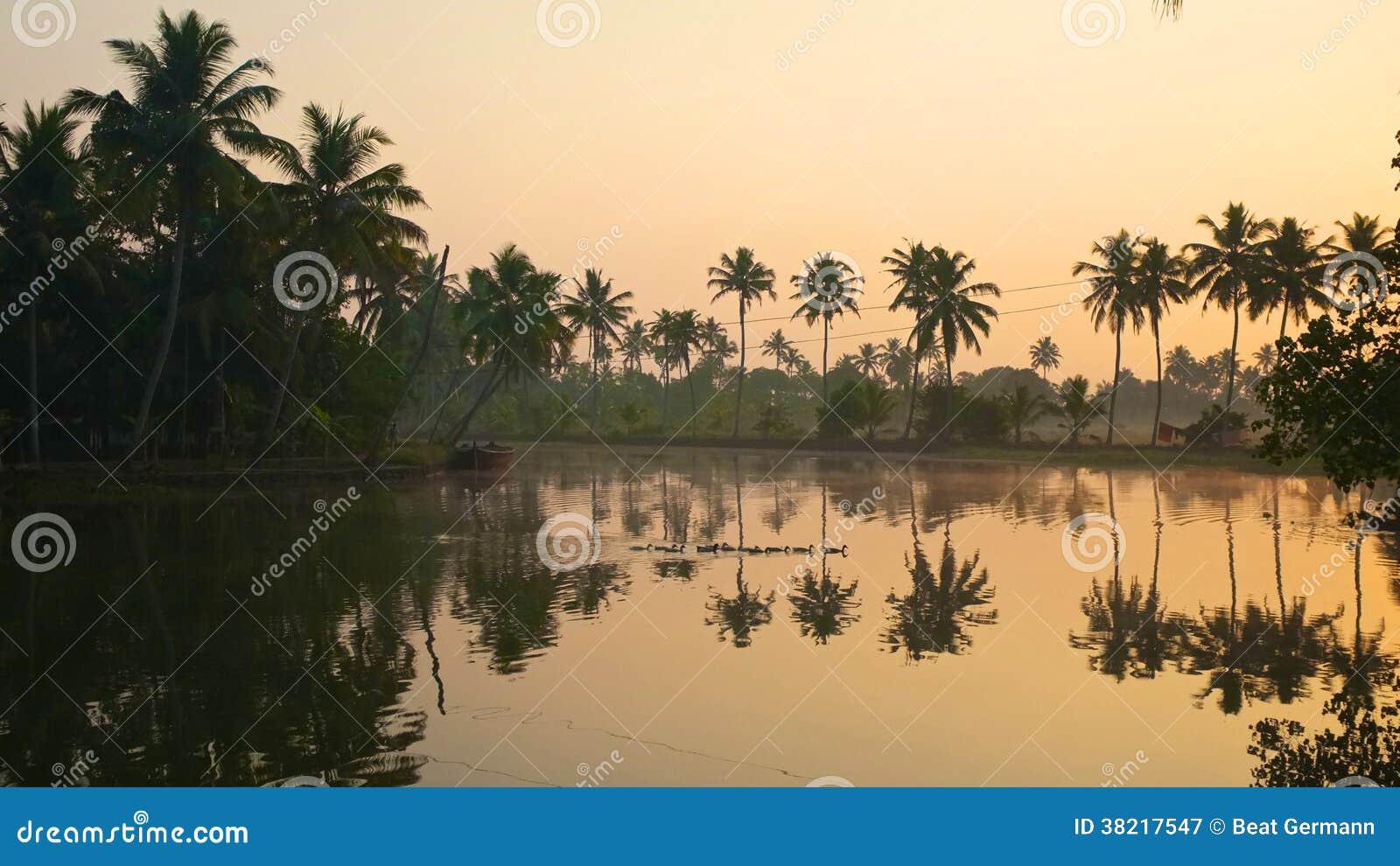Kerala stojące wody, India