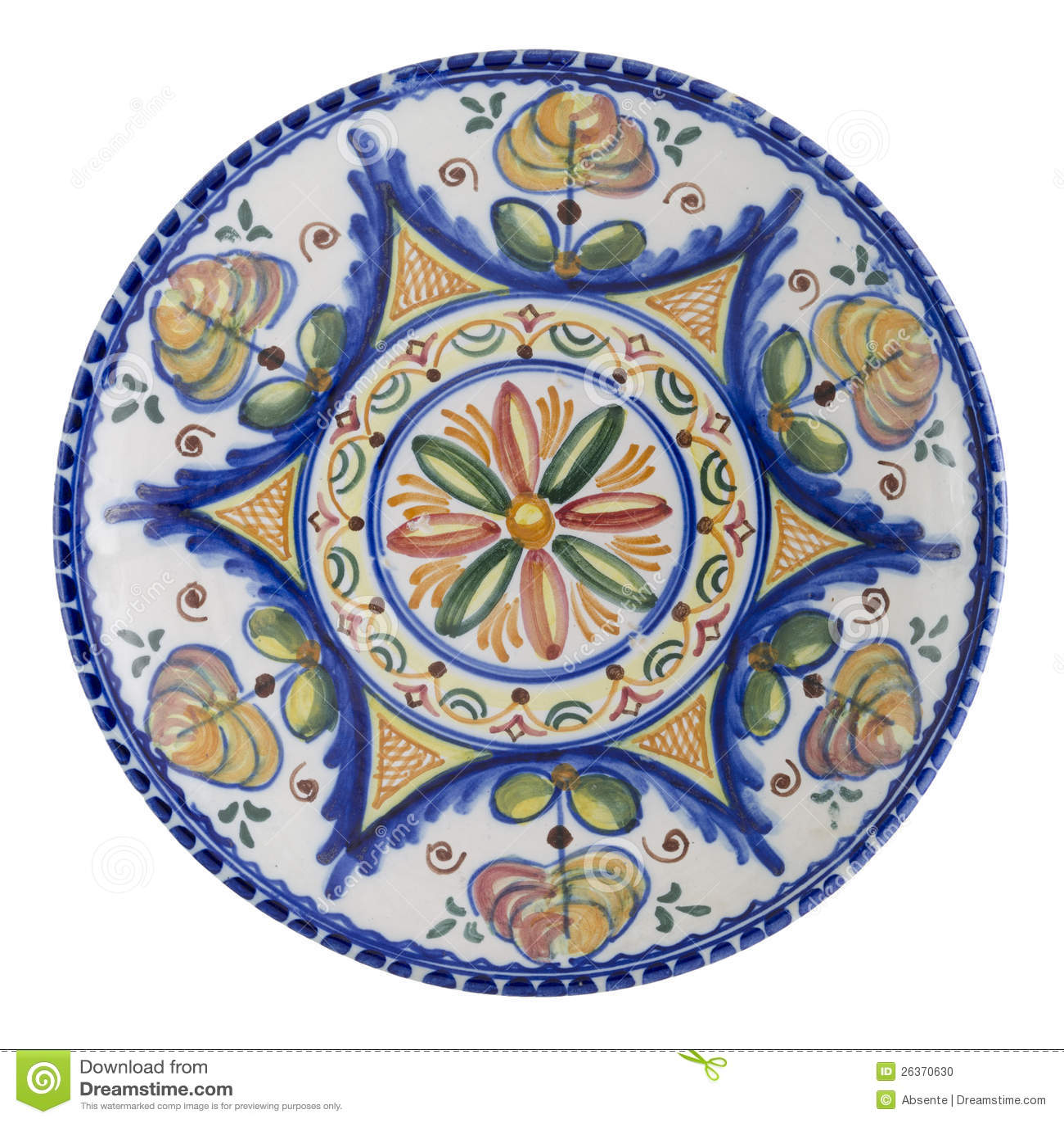 Download Keramische Platte stockfoto. Bild von anstrich, kultur - 26370630