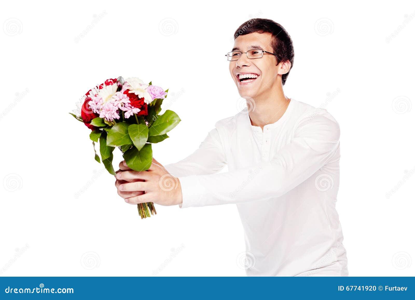 bloemen geven