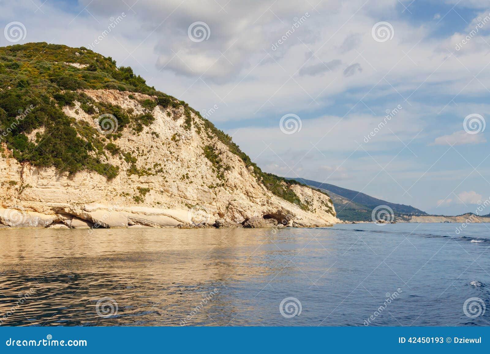 Keri-Höhlen auf Zakynthos-Insel