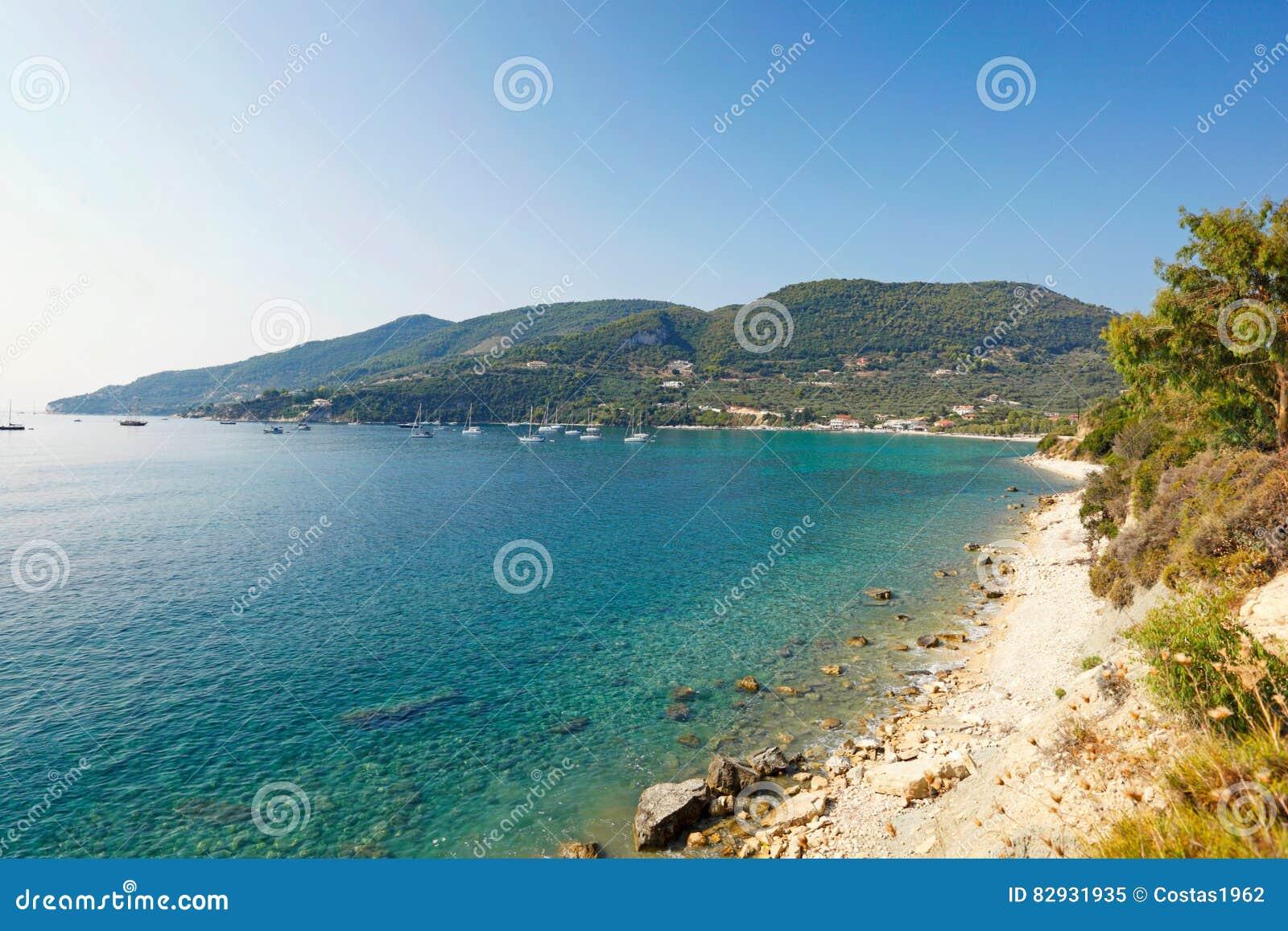 Keri Lake στο νησί της Ζάκυνθου, Ελλάδα