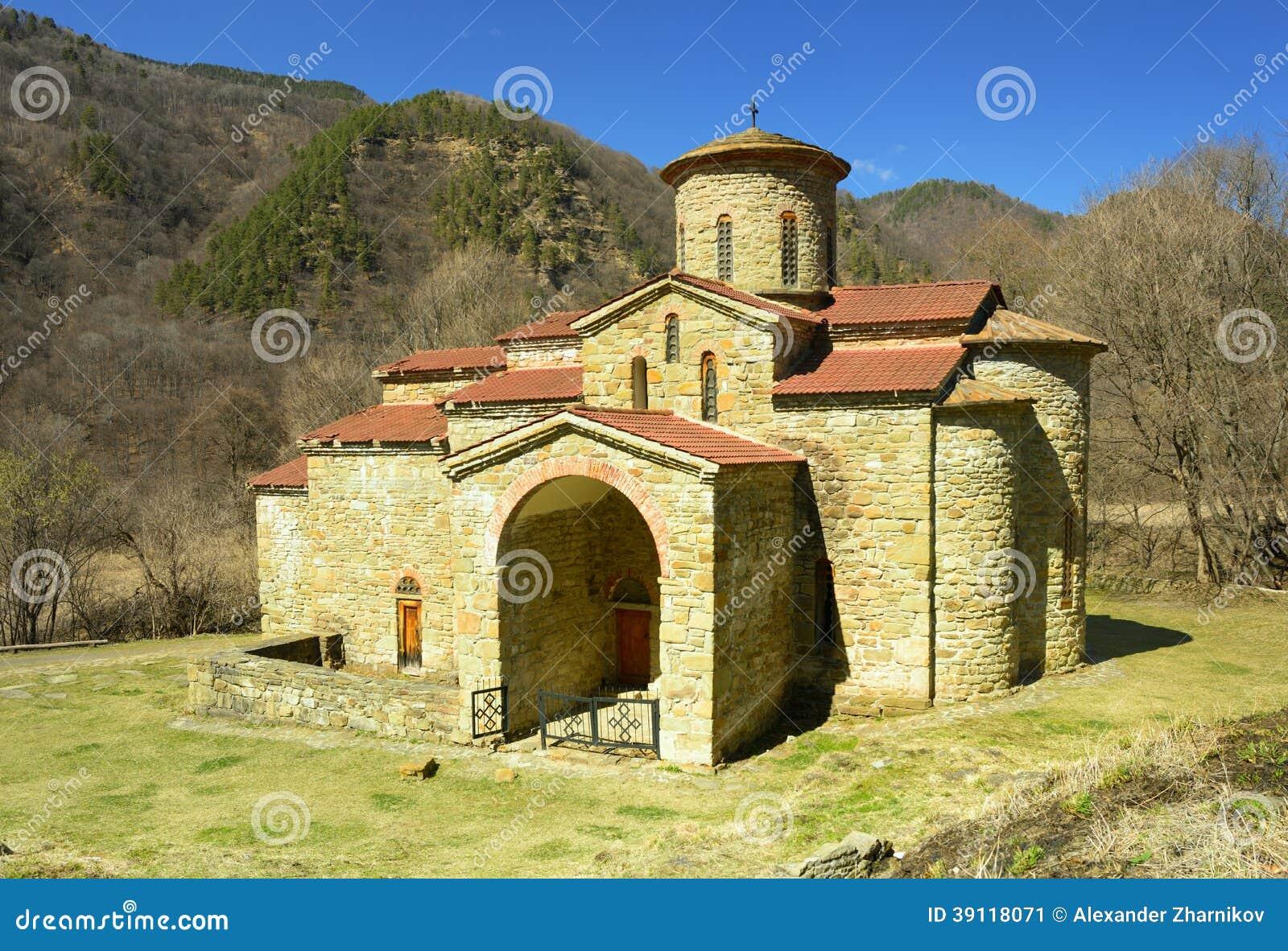 Kerk in de Kaukasus