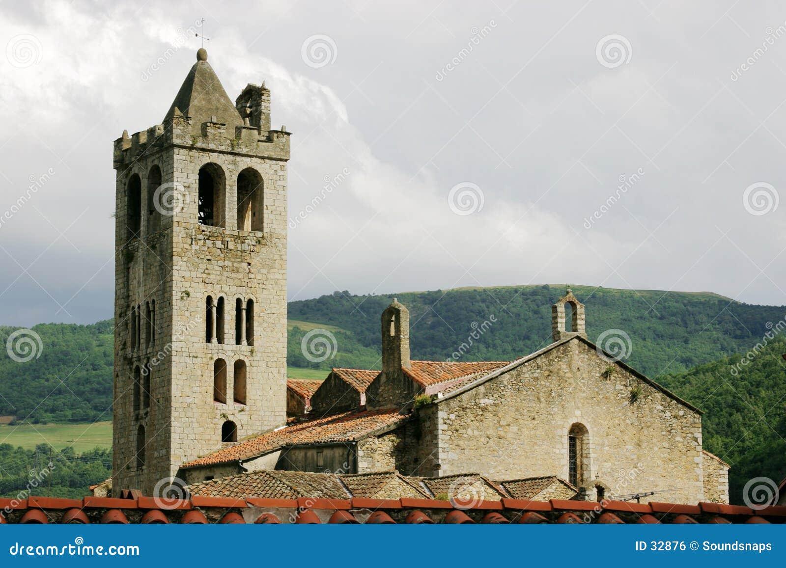 Kerk in de Pyreneeën