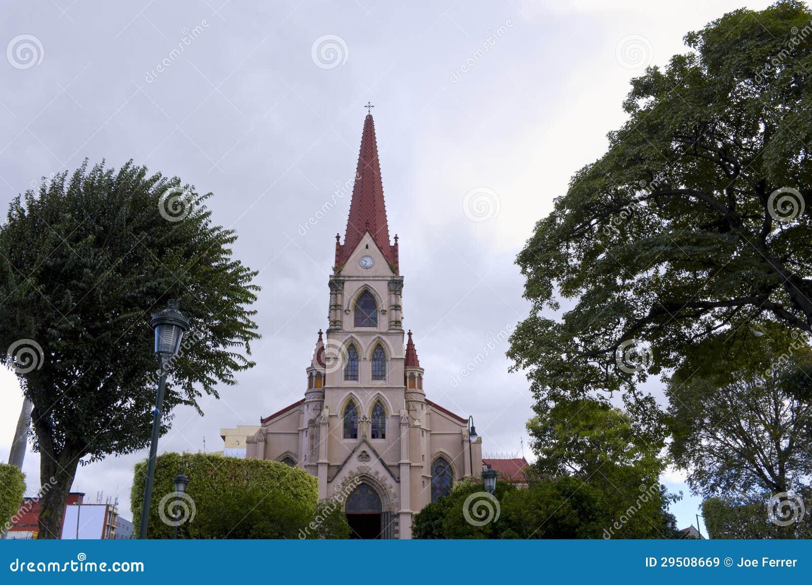 Kerk en Park in San Jose