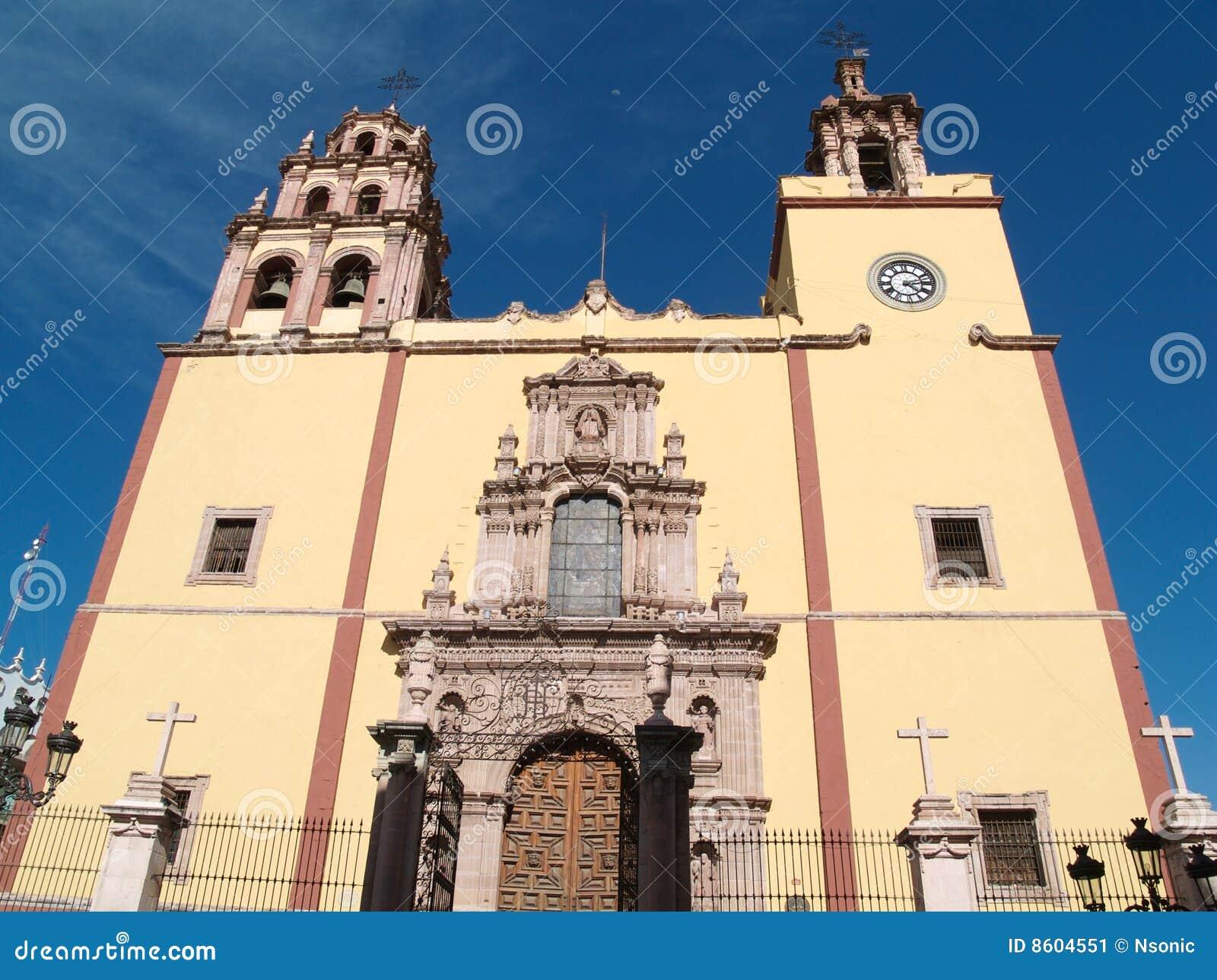 Kerk in Guanajuato, Mexico