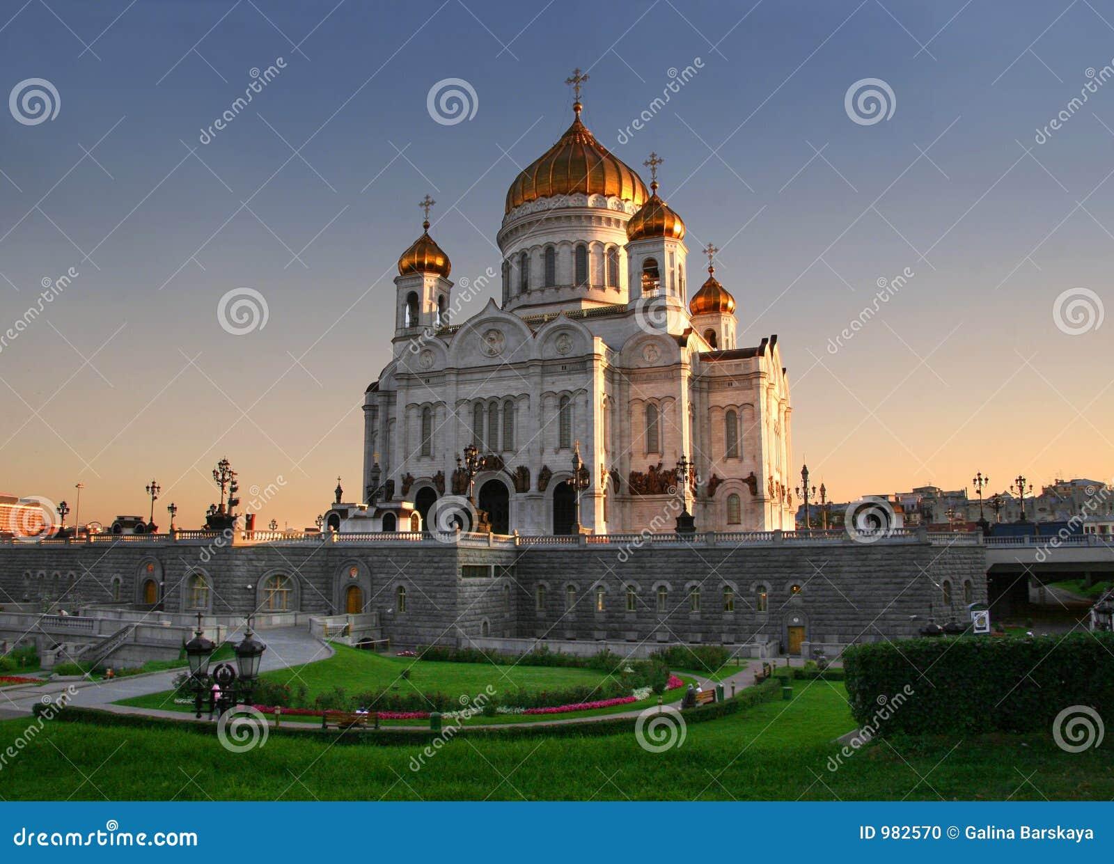 Kerk in Moskou, Rusland