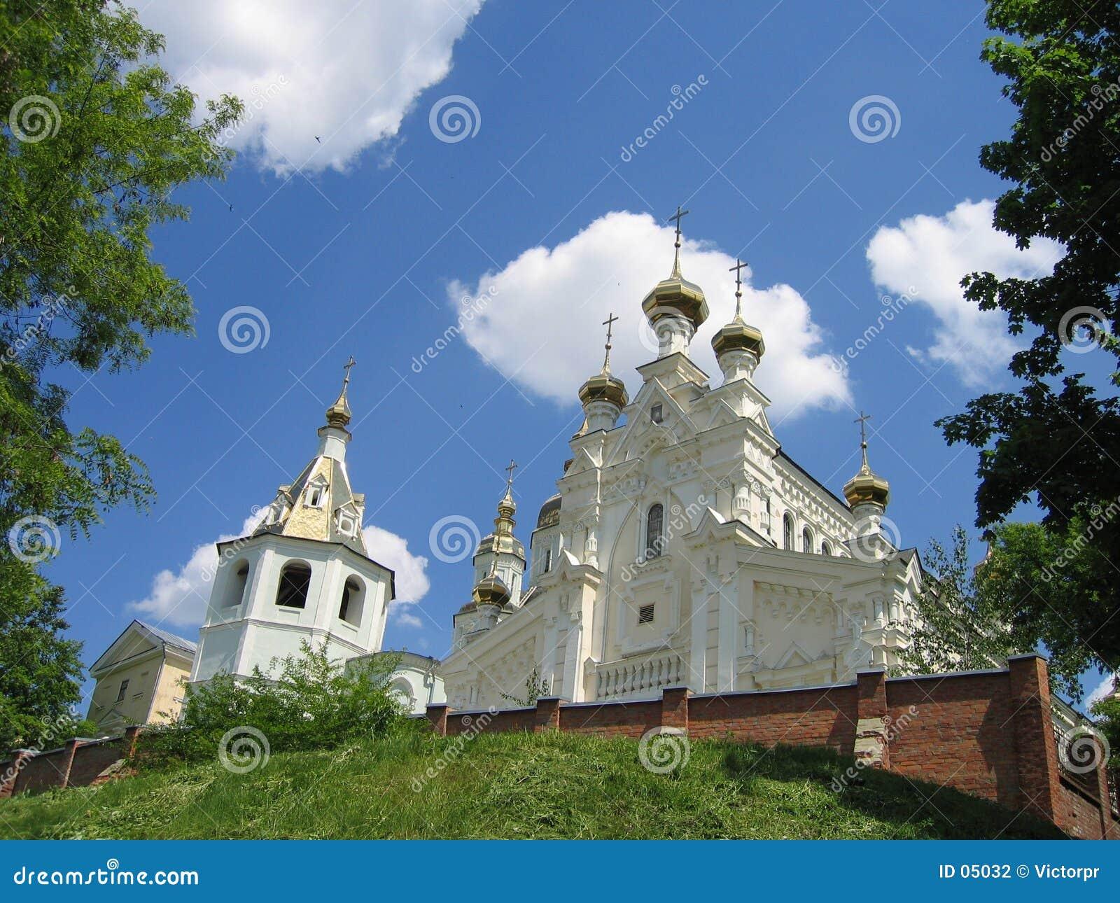 Kerk op heuvel