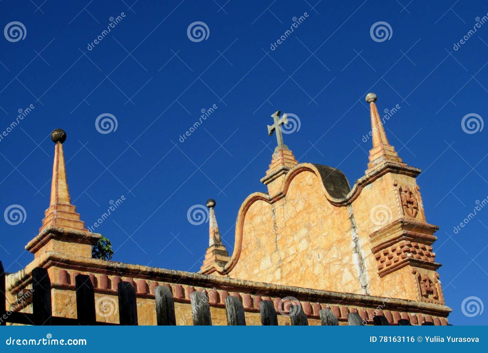 Kerk in Puerto Quijarro, Santa Cruz, Bolivië