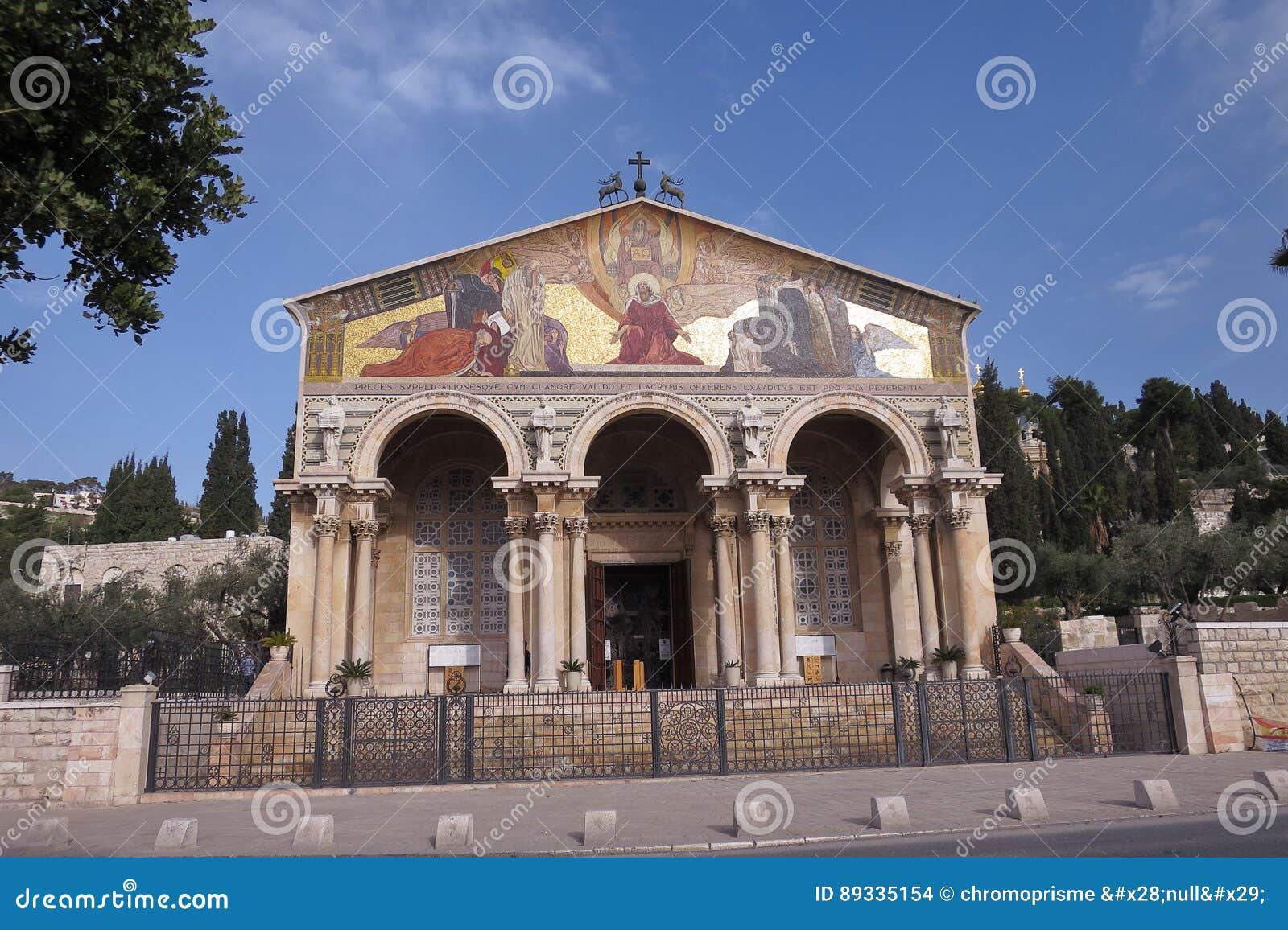 Kerk van Alle Naties - Jeruzalem - Israël