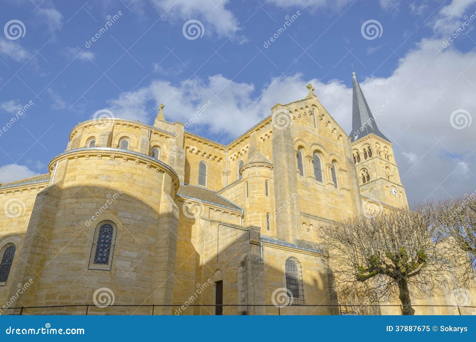 Kerk van Charolles, Bourgondië, Frankrijk, saone-et-Loire