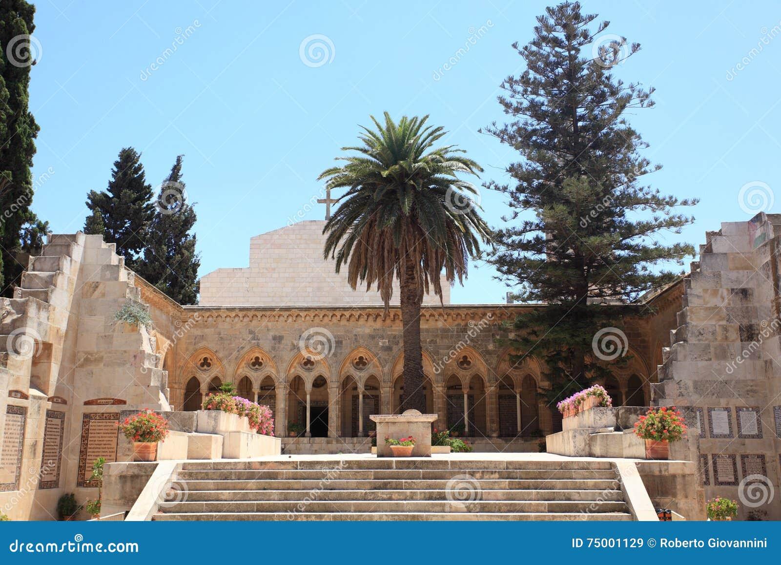 Kerk van Pater Noster, Onderstel van Olijven