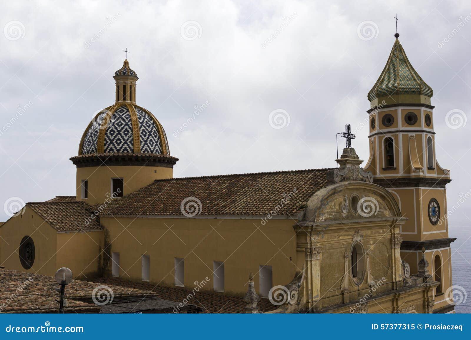 Kerk van San Gennaro in Praiano, Italië