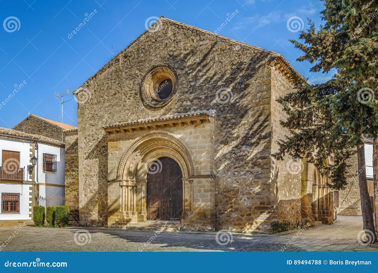 Kerk van Santa Cruz, Baeza, Spanje