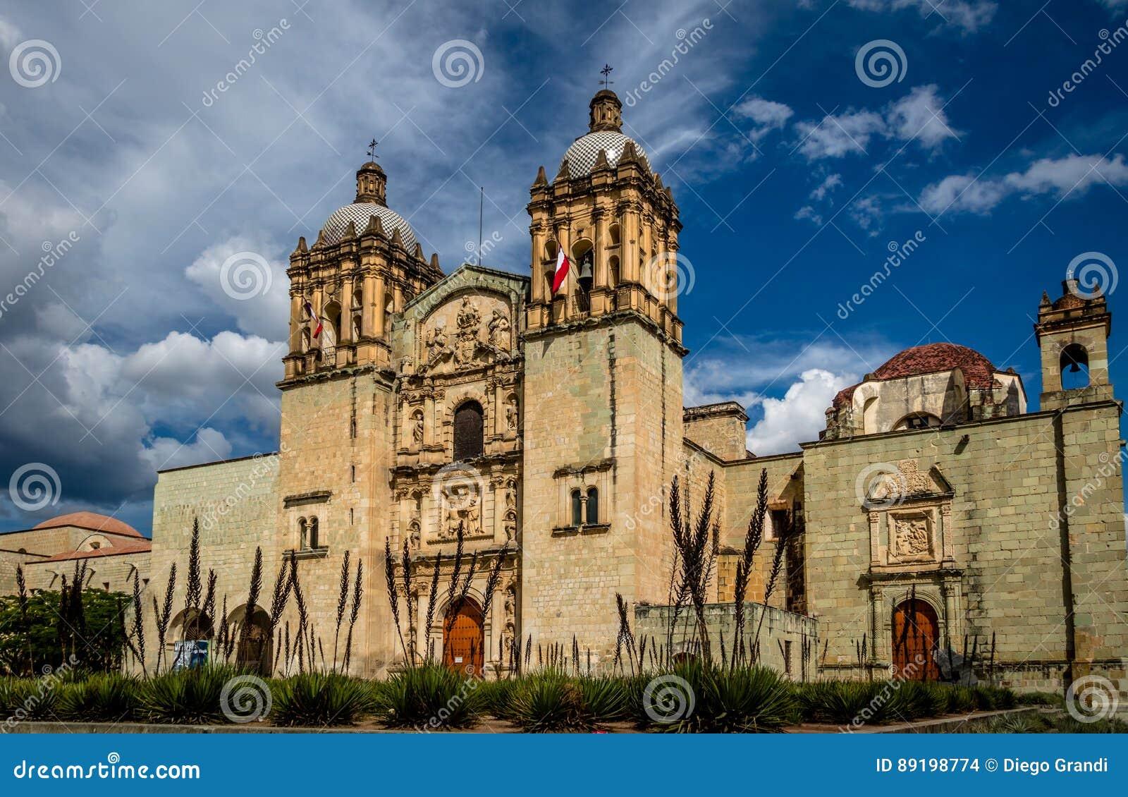 Kerk van Santo Domingo de Guzman - Oaxaca, Mexico