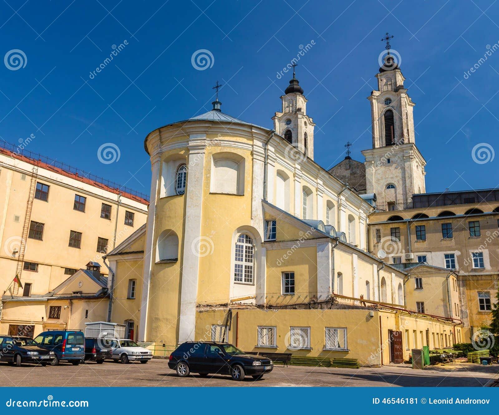 Kerk van St Francis Xavier in Kaunas