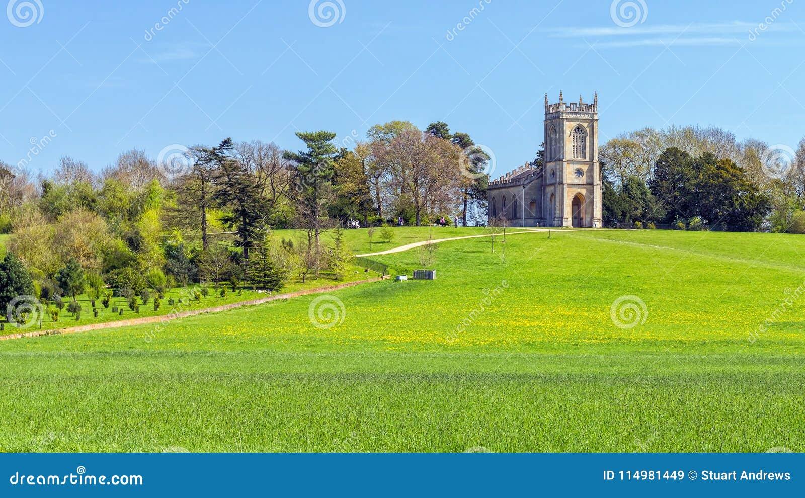 Kerk van St Mary Magdalene, Croome-Park, Worcestershire