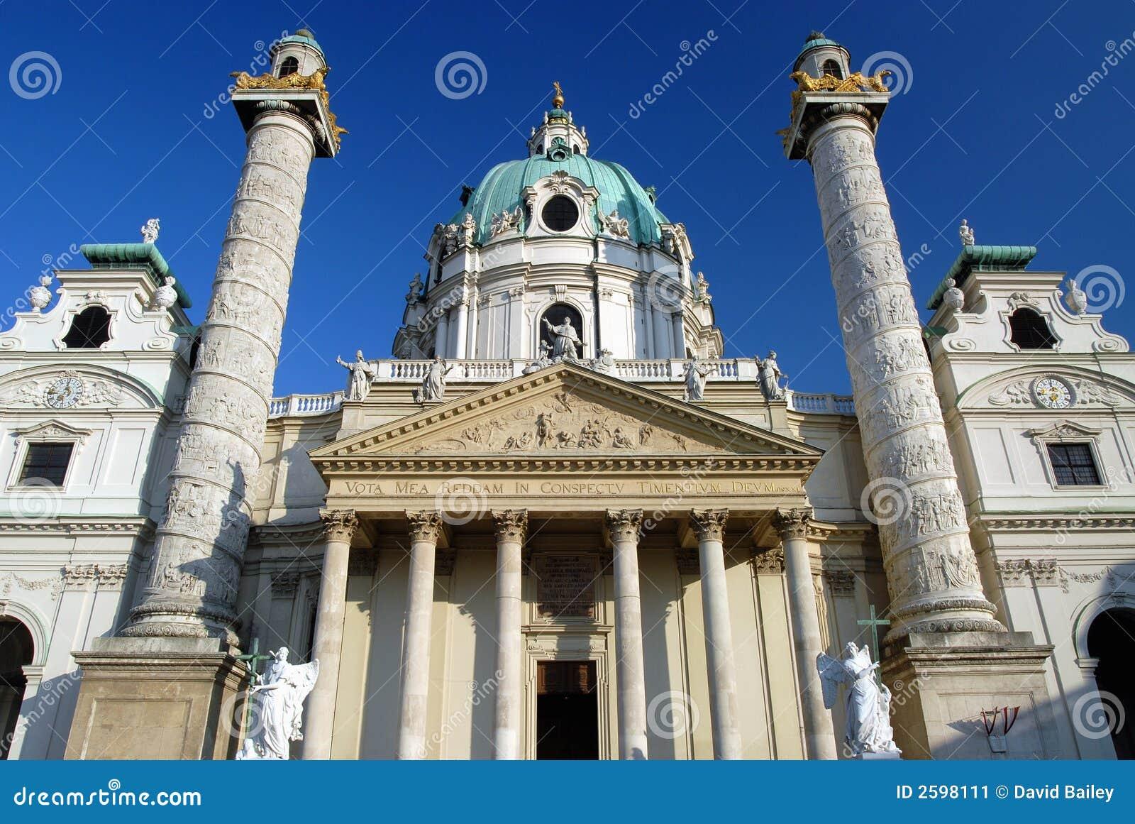 Kerk Wenen - Karlskirche