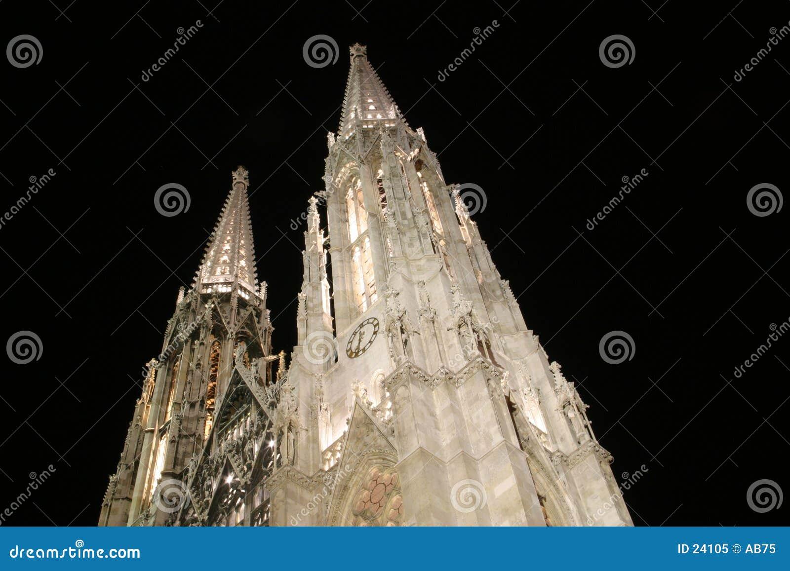 Kerk in Wenen - Votiv Kirche
