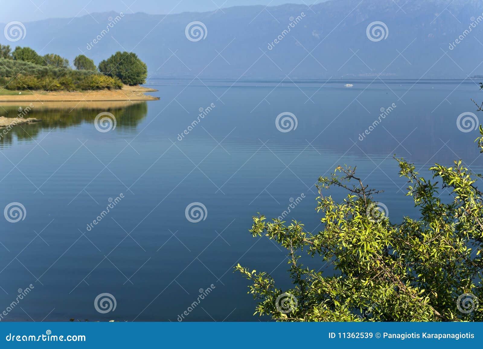 Kerkini See bei Griechenland