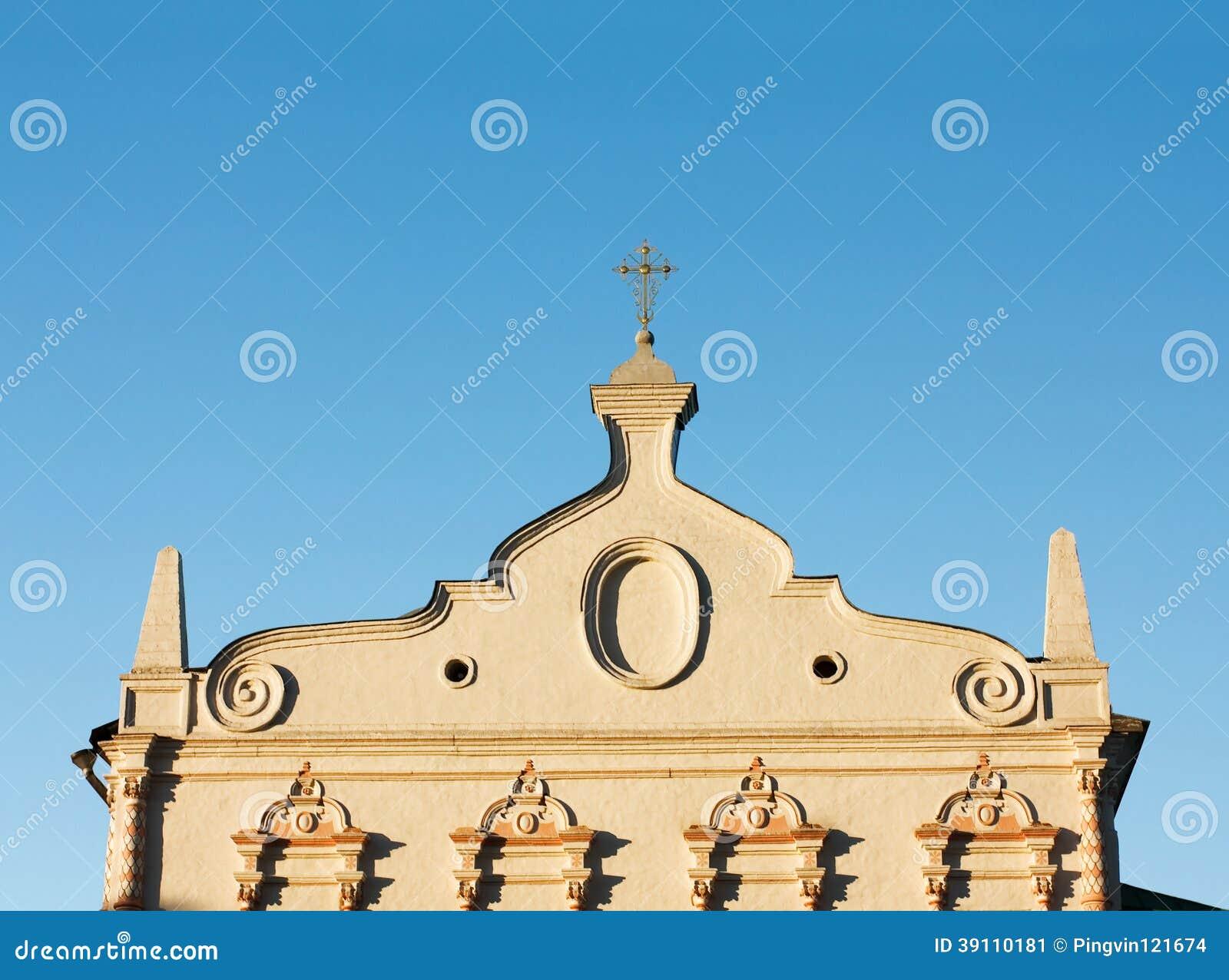 Kerkmuur (detail)