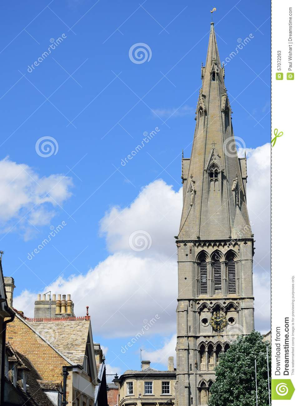 Kerkspits in stamford Lincolnshire
