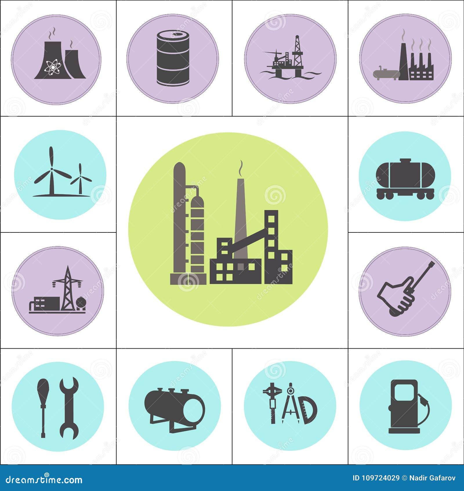 Kern of geplaatste olie en gaselektrische centrales