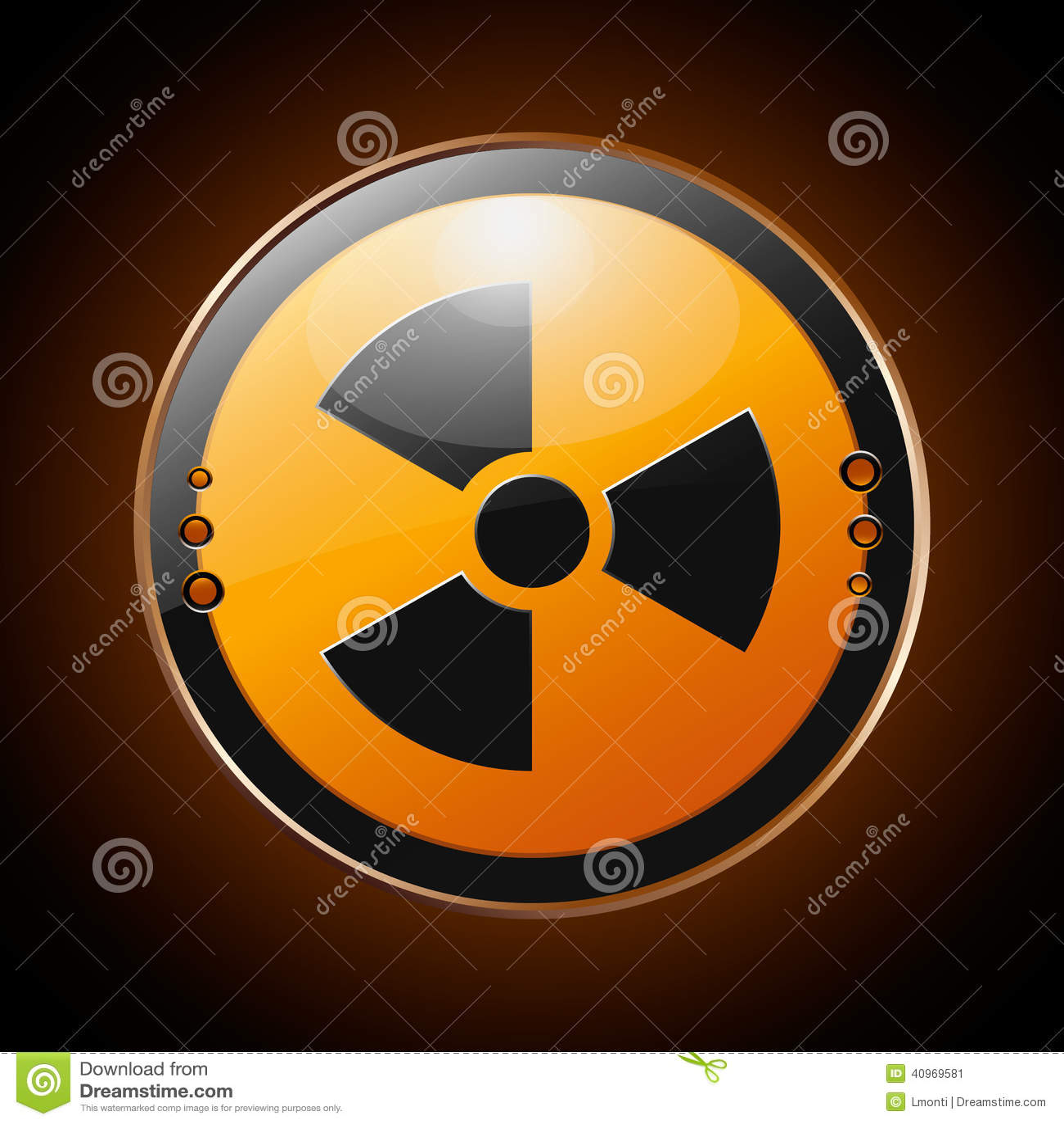 Kern radioactief symbool