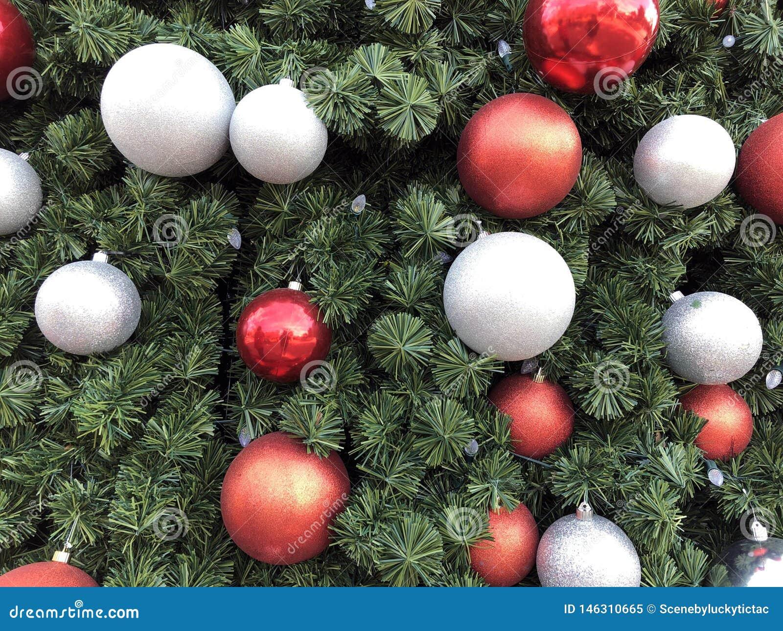 Kerstboom in Dallas Texas