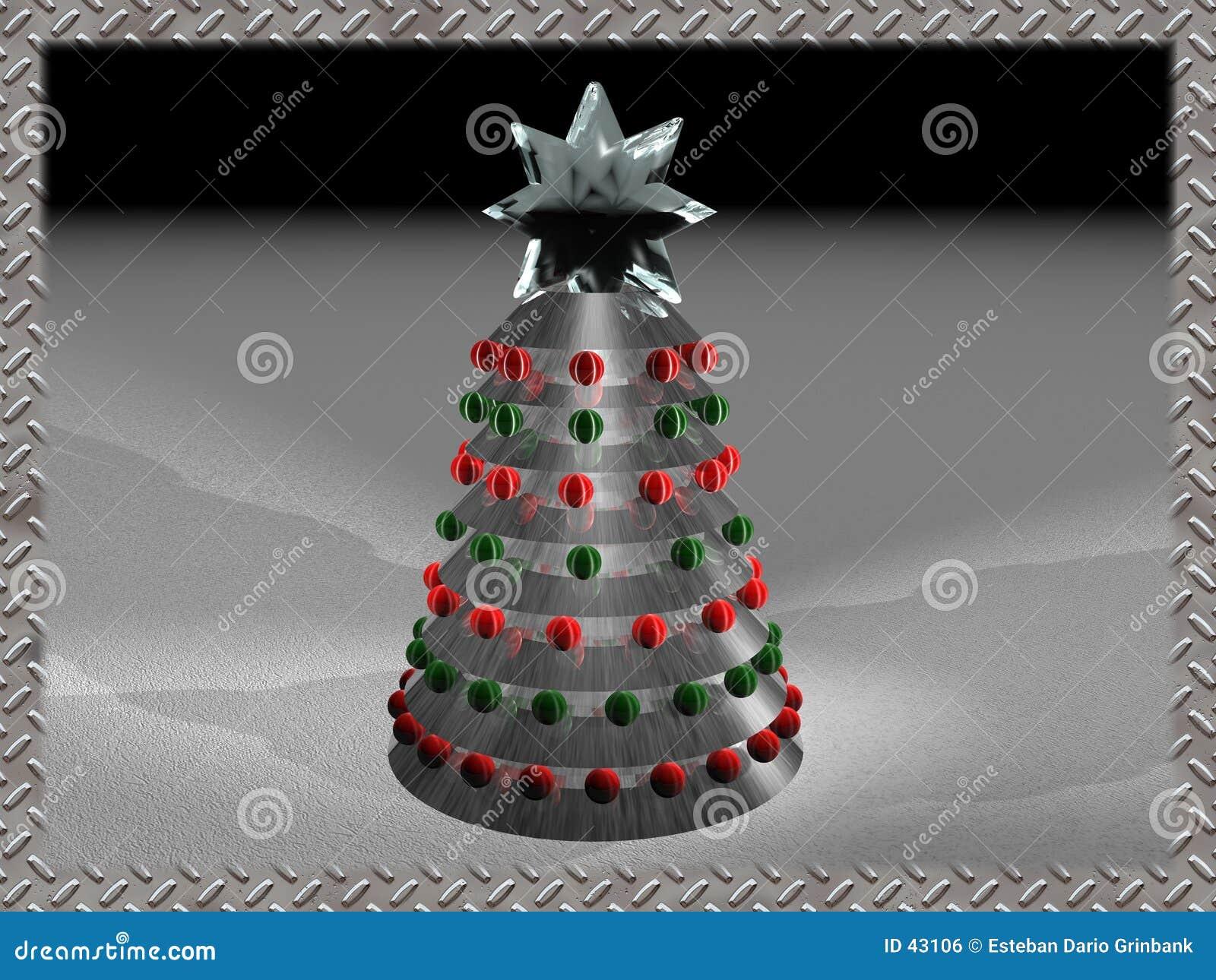 Kerstmis 2 van Techno
