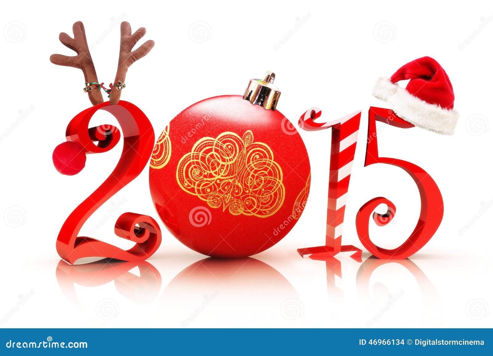 Kerstmis 2015 Stock Illustratie Afbeelding Bestaande Uit