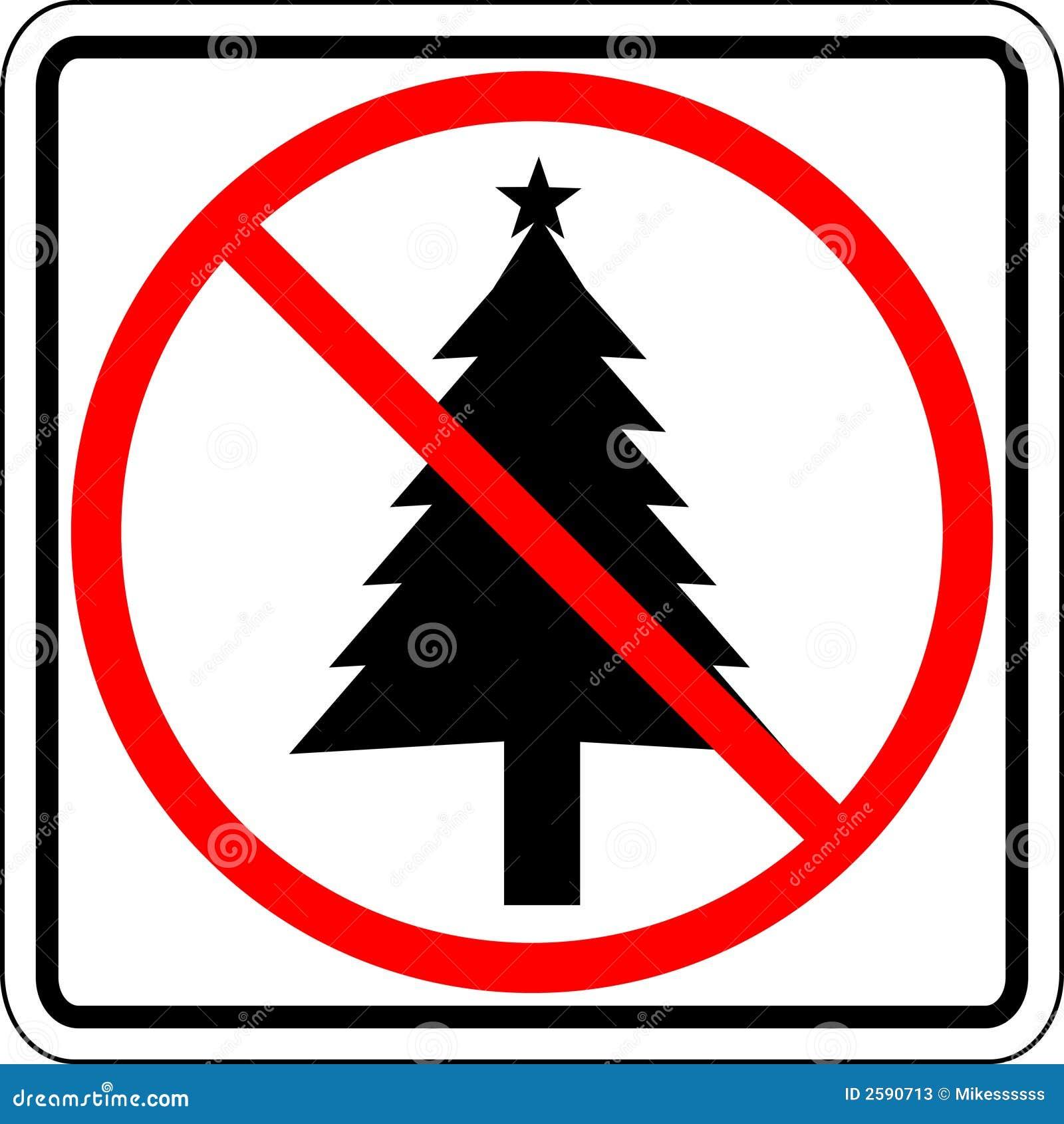 Kerstmis belemmerde teken