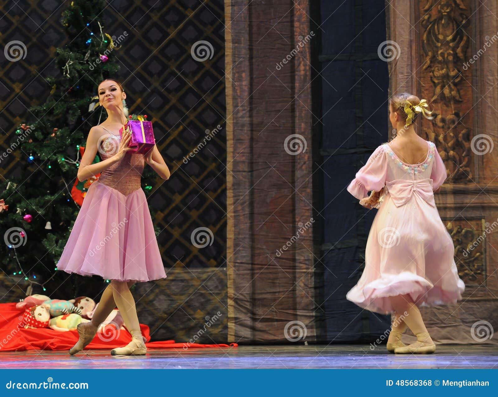 Kerstmis de gift-Balletnotekraker