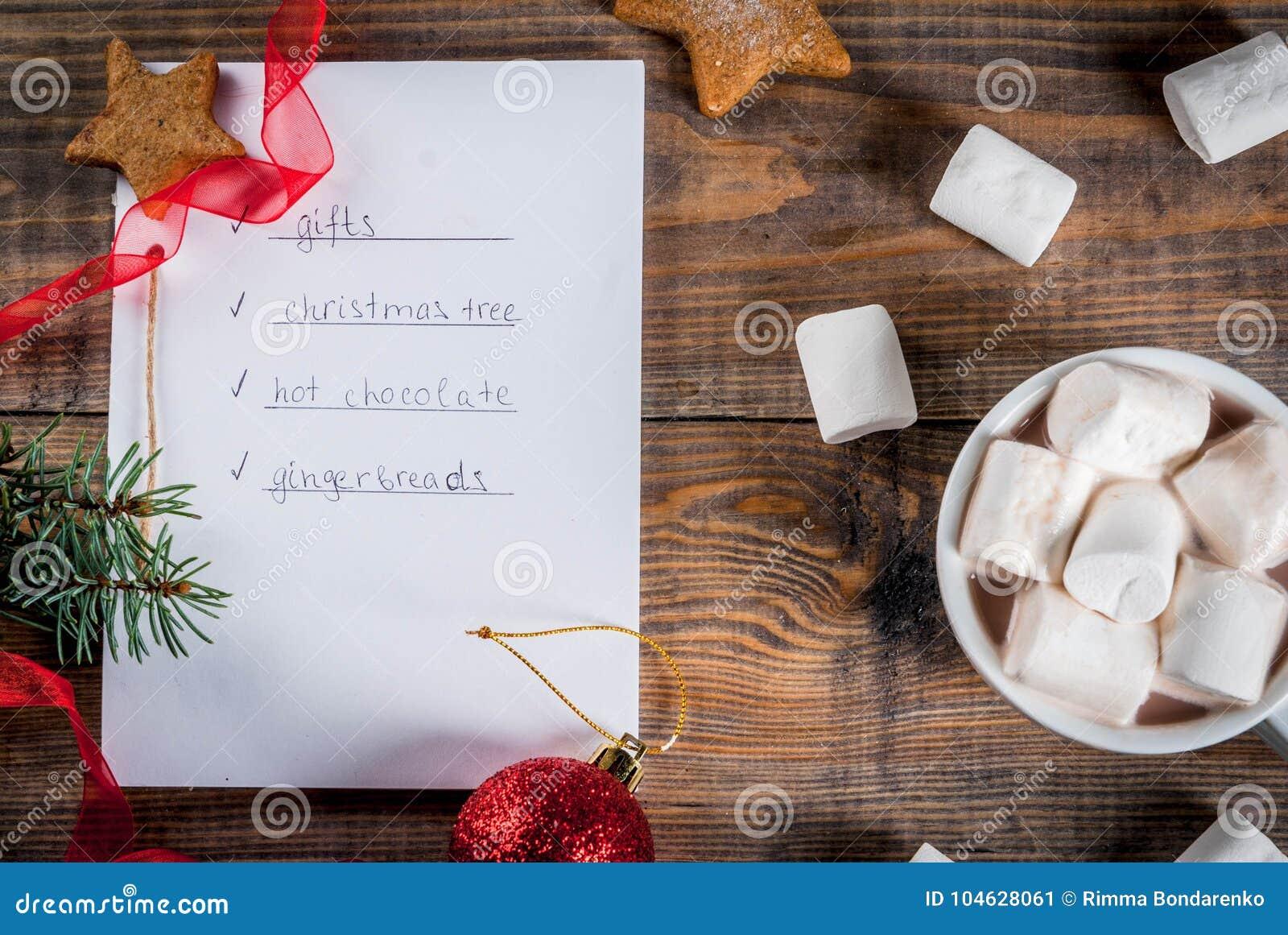 Download Kerstmis, Het Concept Van De Nieuwjaarviering Stock Afbeelding - Afbeelding bestaande uit peperkoek, heet: 104628061