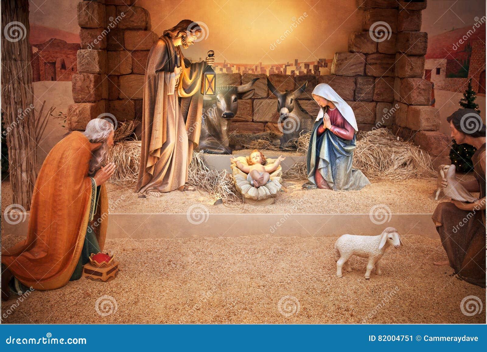 Kerstmis Jesus Birth Nativity