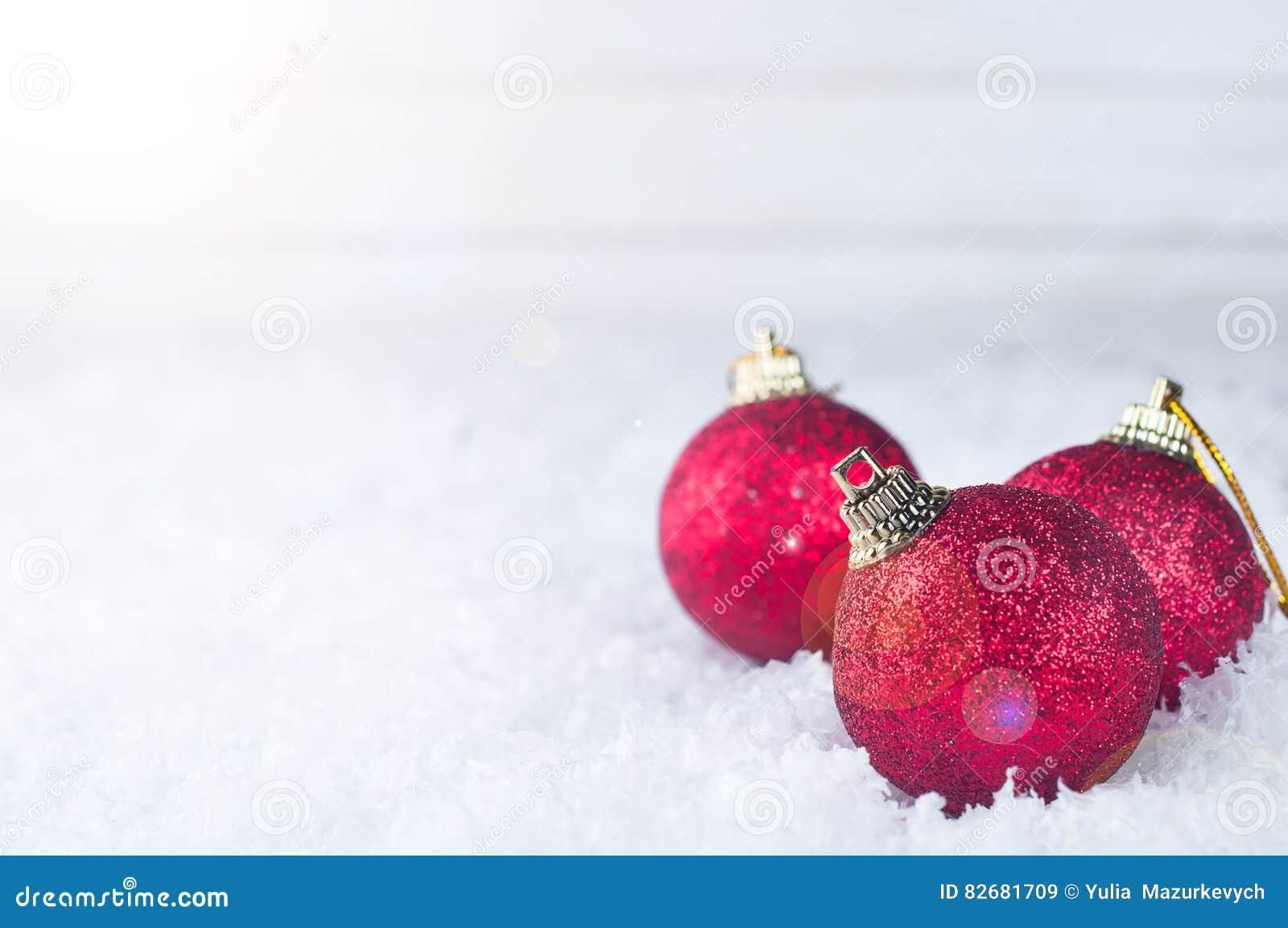 Kerstmis rode ballen