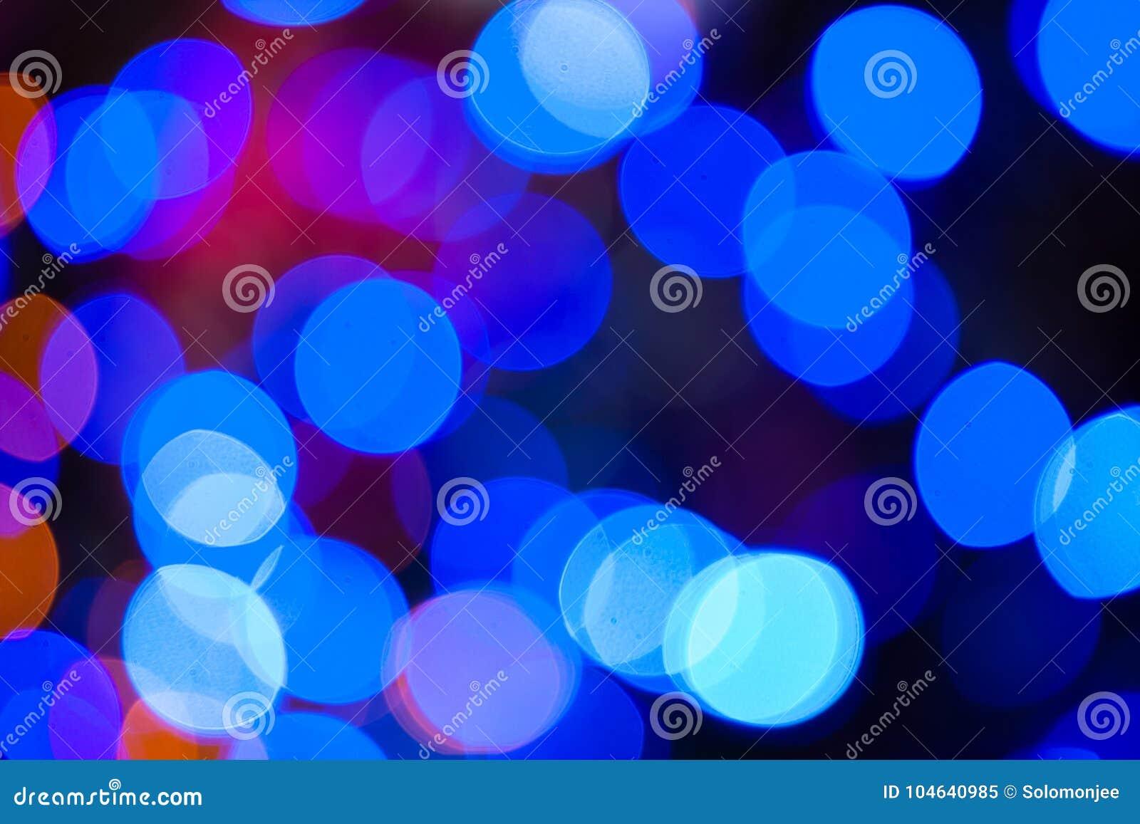 Download Kerstmis Steekt Blauwe Bokehachtergrond Aan Stock Afbeelding - Afbeelding bestaande uit kaart, up: 104640985