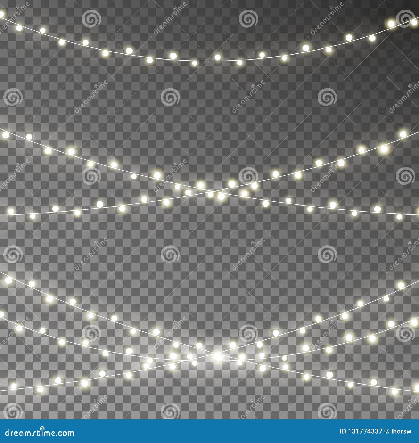 Kerstmis steekt Koordvector aan  Vector illustratie