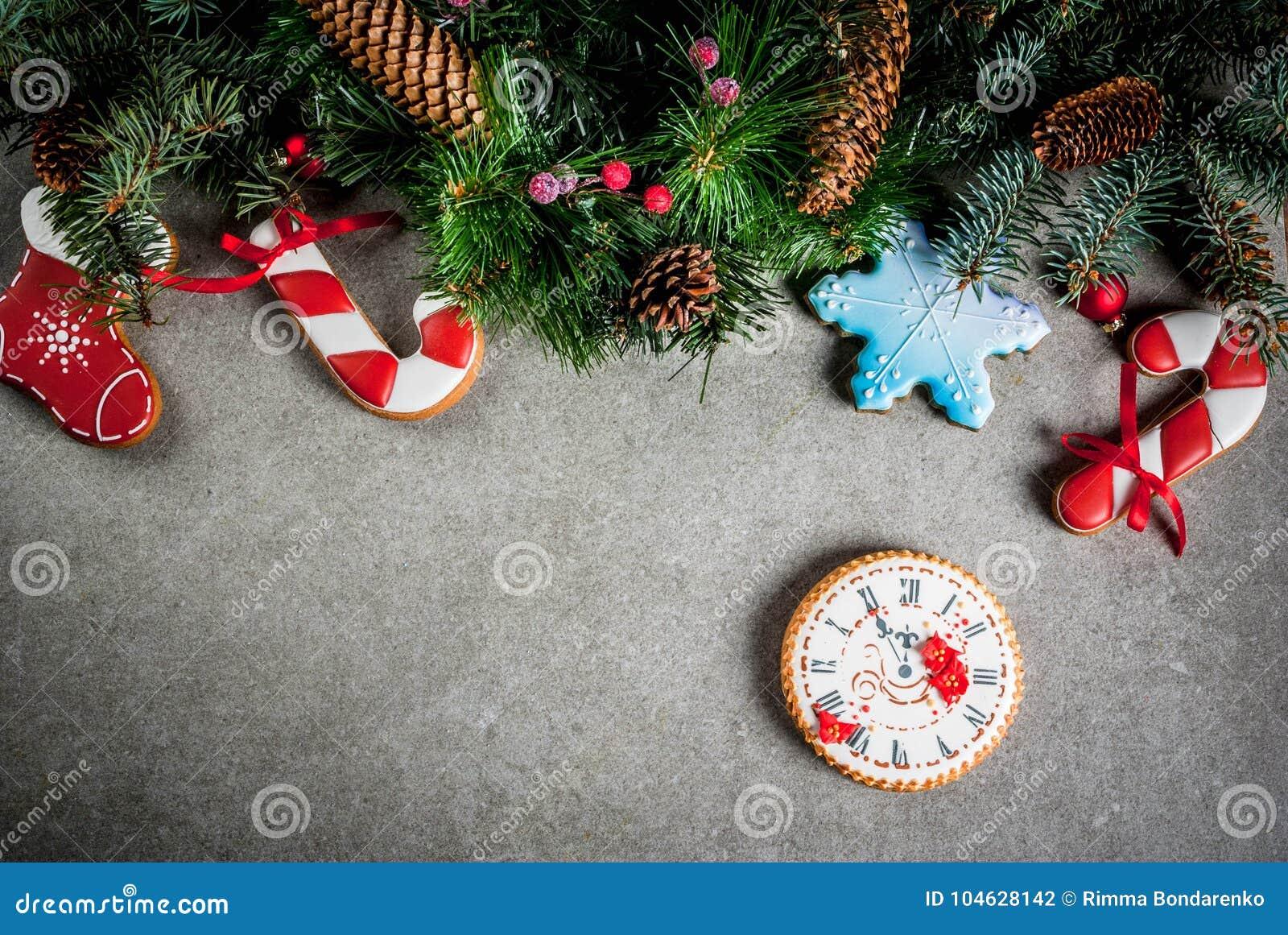 Download Kerstmisachtergrond Met Peperkoeken Stock Foto - Afbeelding bestaande uit achtergrond, vakantie: 104628142