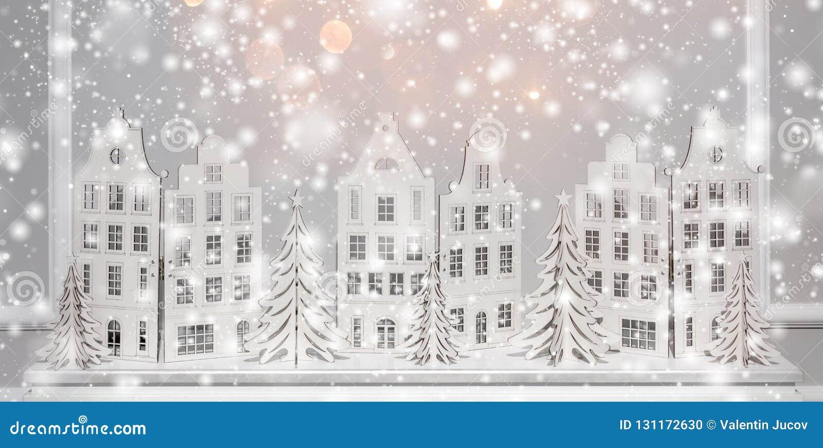 Kerstmisachtergrond van document decoratie Kerstmis en Gelukkige Nieuwe YeChristmas-achtergrond van document decoratie Kerstmis e