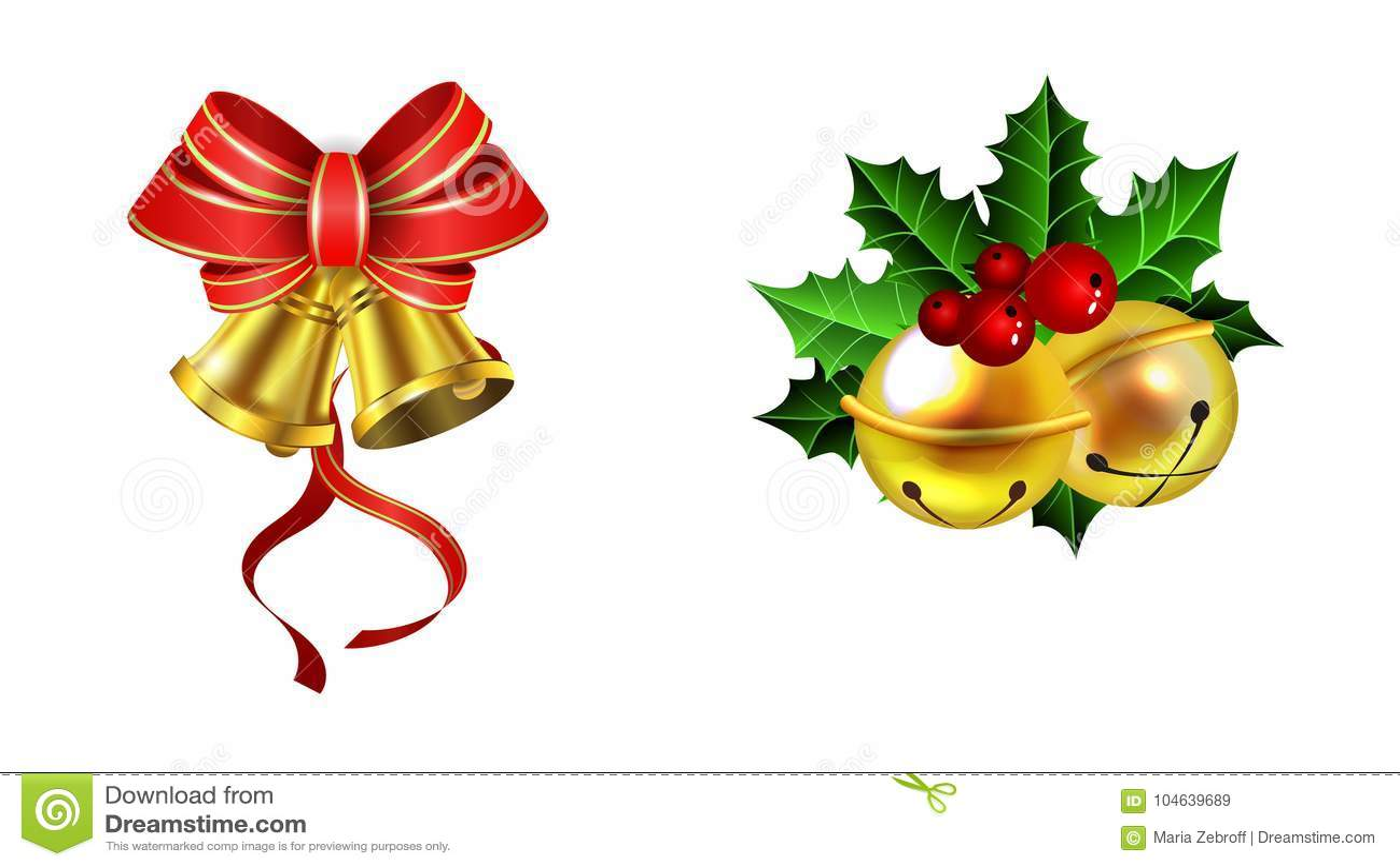 Download Kerstmisdecoratie Met Boogreeks Vector Illustratie - Illustratie bestaande uit boog, retro: 104639689