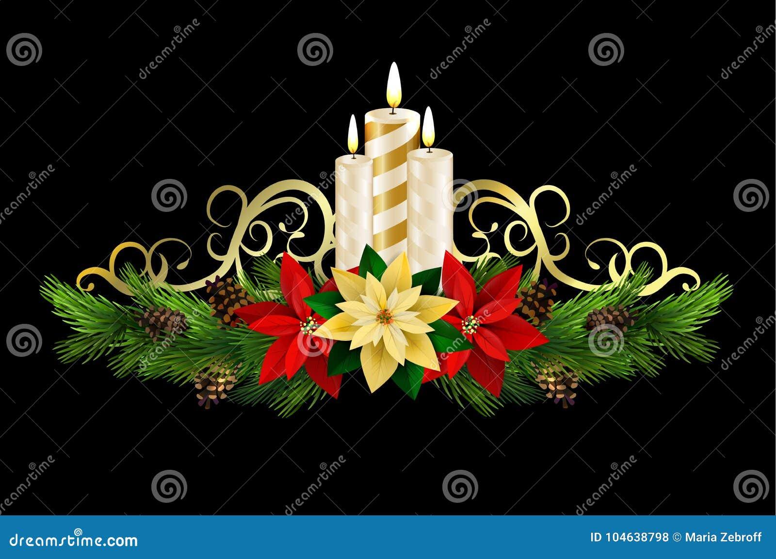 Download Kerstmiselementen Voor Uw Ontwerpen Vector Illustratie - Illustratie bestaande uit altijdgroen, decoratief: 104638798