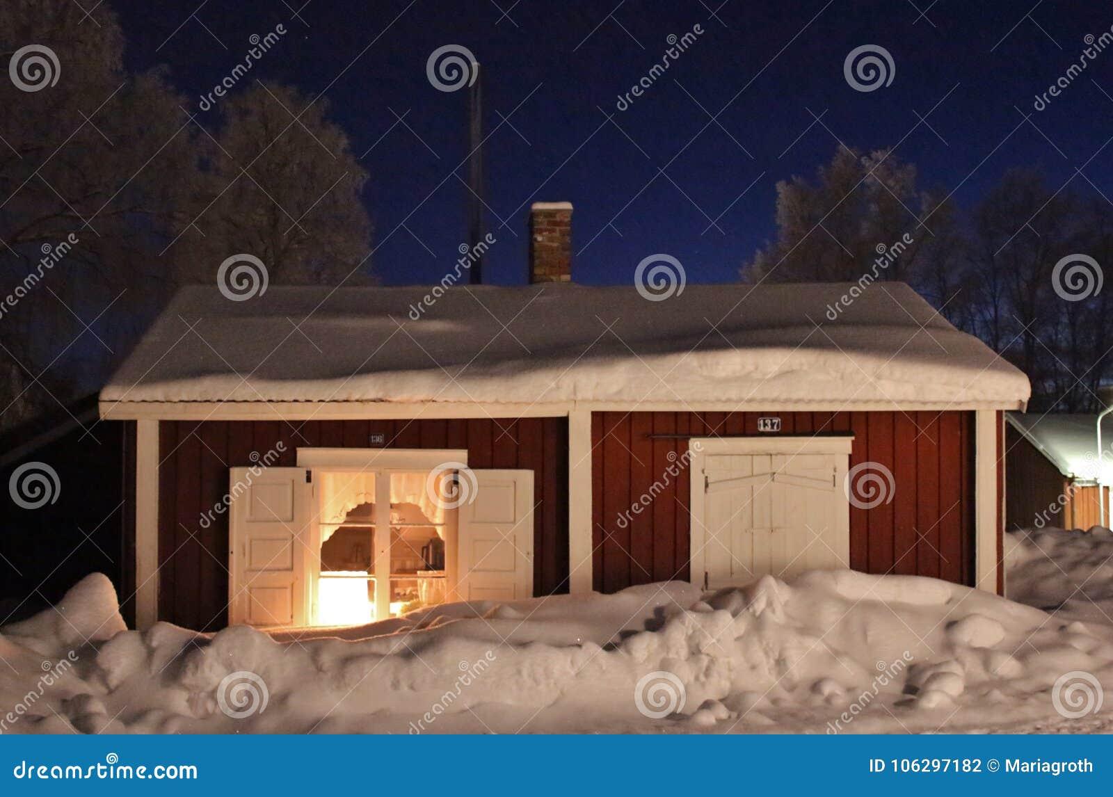 Kerstmisgeest in Gammelstad-Kerkstad