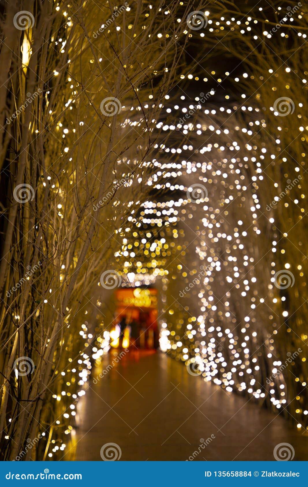 Kerstmislichten in komst in Zagreb