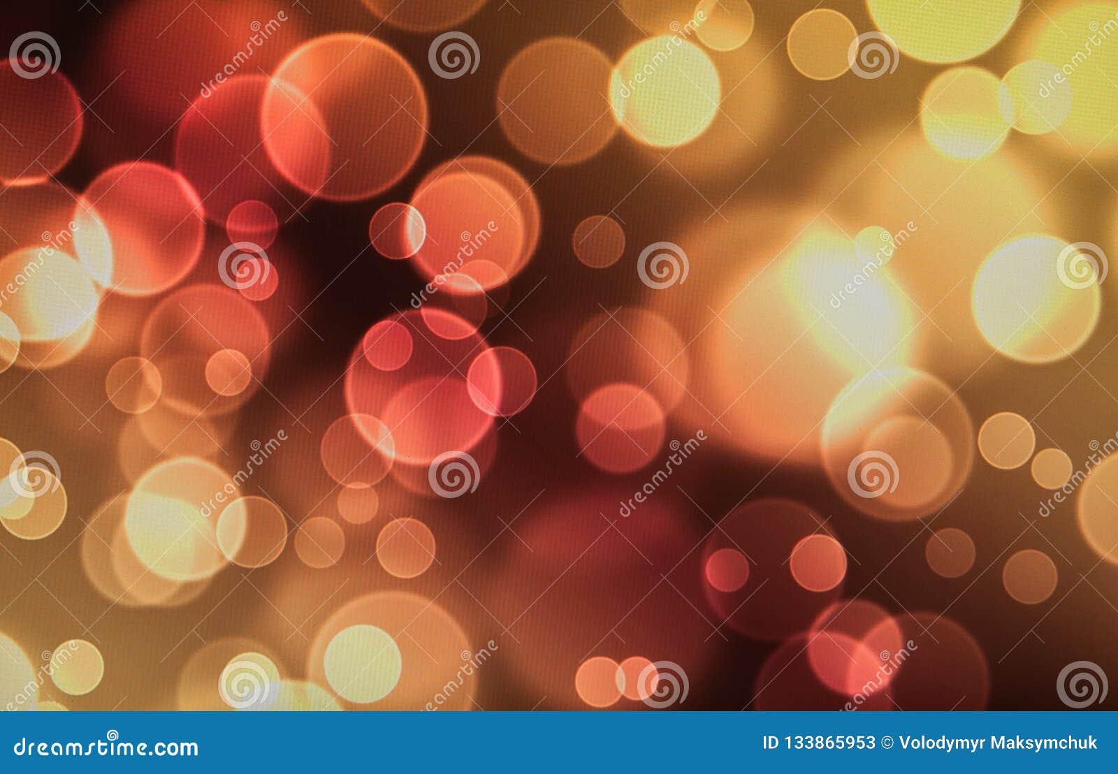 Kerzenlicht boke Unschärfe für Hintergrund, Kerzenlicht boke Unschärfe für Hintergrund Bokee-Hintergrund
