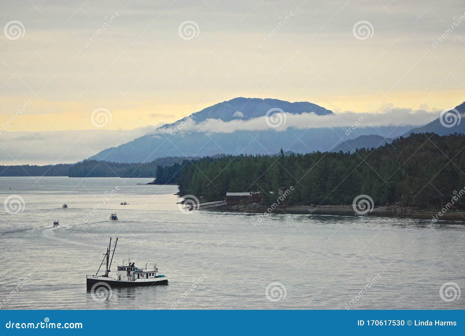Snorkle Ketchikans Tongass Narrows, Ketchikan, Alaska