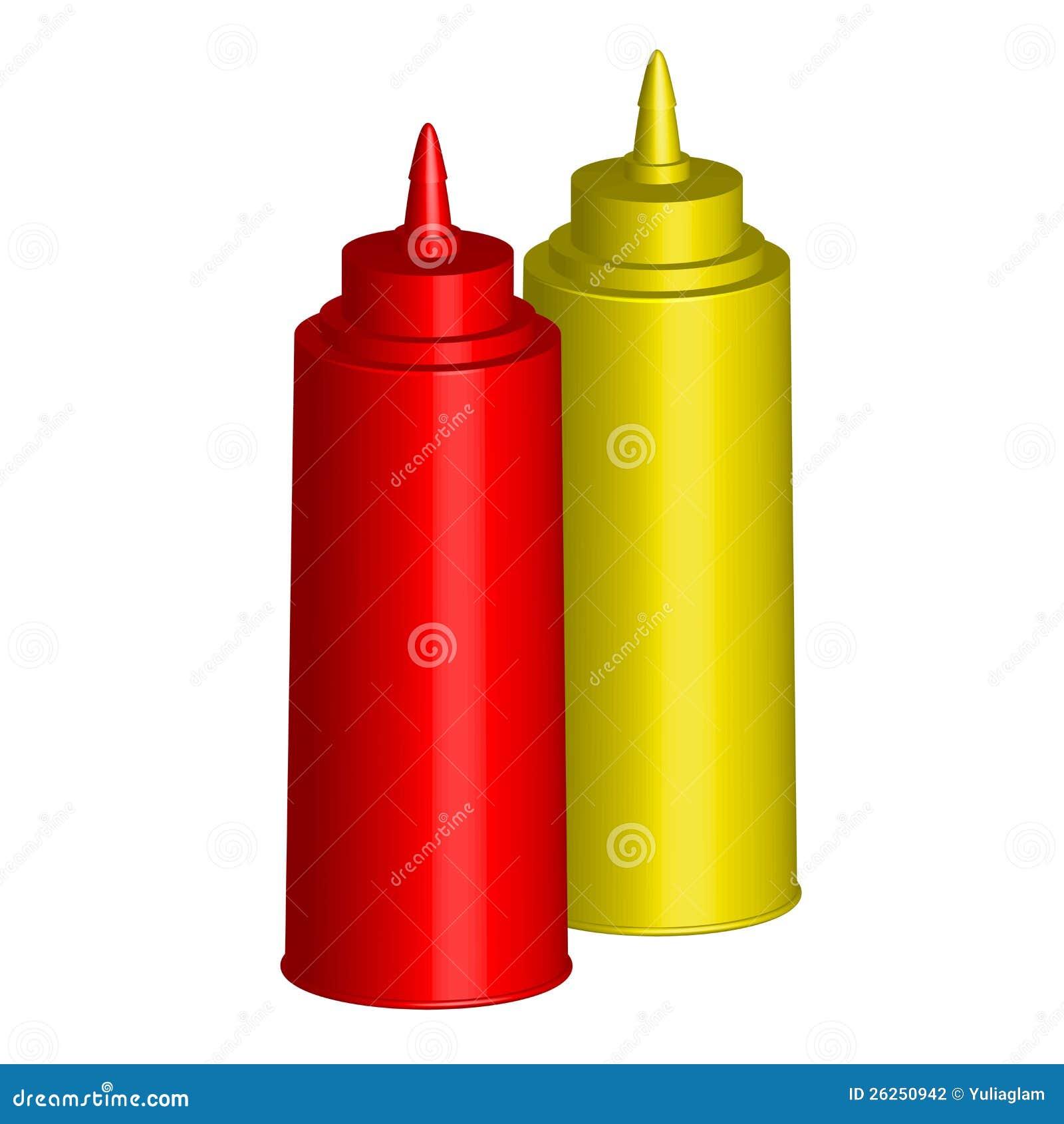 Ketchup och senap